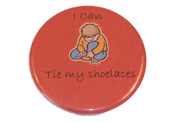 Celebrate those important first successes of those younger children who may have just started school with a button badge
